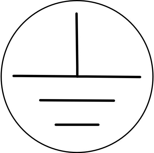 Symbool veiligheidsaarde